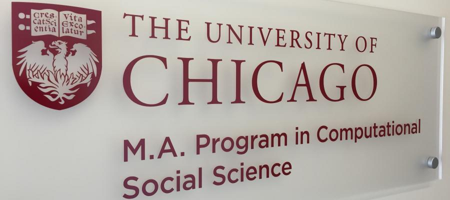 The University of Chicago M.A. Progress in Computational Social Science